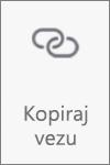 """Dugme """"Kopiraj povezivanje"""" u usluzi OneDrive za Android"""