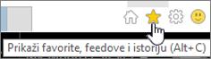 Internet Explorer Feed dugme