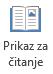 Prikaz za čitanje je prikladno za čitanje PowerPoint prezentacije preko celog ekrana kada postoji bez izlagača.