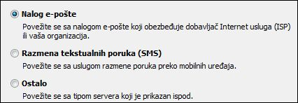Outlook 2010 nalog e-pošte – dodavanje novog naloga