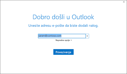 Dobro došli u Outlook