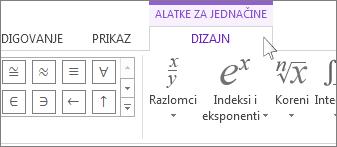 Alatke za jednačine