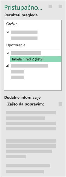 """Grupa """"Dodatne informacije"""""""