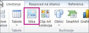 Office 2010 – umetanje slike