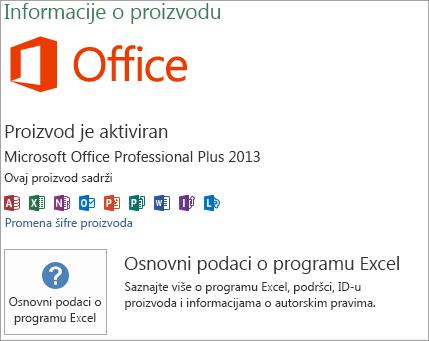 Excel MSI instalacija