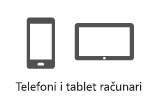 Telefoni i tablet računari