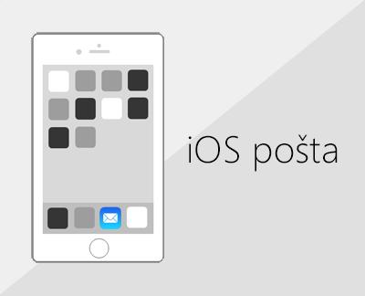 Kliknite da biste postavili e-poštu u aplikaciji iOS Mail