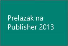 Prelazak na Publisher 2013