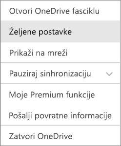 Centar aktivnosti u OneDrive za Mac