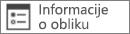 Komanda za informacije o obliku