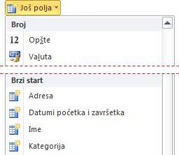 "Lista ""Još polja"""