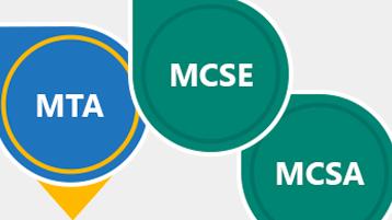 Microsoft Learning certifikacije: MTA, MCSE, MCSA
