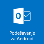 Podešavanje aplikacije Outlook za Android