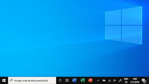 Traka zadataka u operativnom sistemu Windows 10