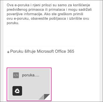 OME prikazivač sa Gmail 1