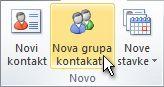 """Komanda """"Nova grupa kontakata"""" na traci"""