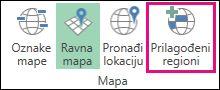 Prilagođeni regioni