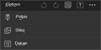 """Više opcija za aplikaciju """"OneDrive for iOS"""" za navigaciju PDF Markup"""