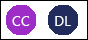 "Saradnik Početna ikone ""Cc"" i DL"