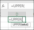 """Snimak ekrana trake sa alatkama """"Referenca za funkciju"""""""