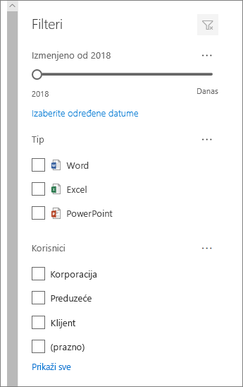 """Dokument okno """"filter"""""""