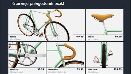Konceptualna slika predloška iz 3D kataloga