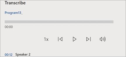 Prikaži okno sa transkripcijama