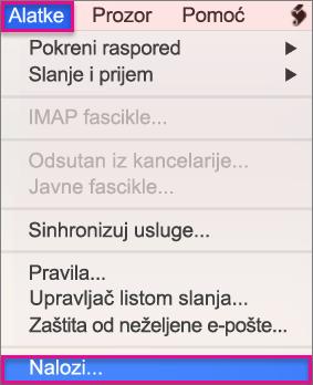 Alatke > Nalozi