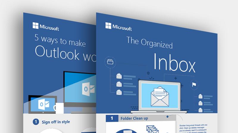 Preuzmite ove infografike za Outlook