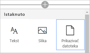 Ugrađivanje Visio dijagrama u SharePoint stranicu komande