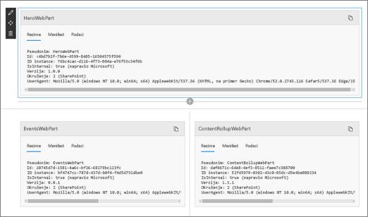 Web segment za održavanje režim