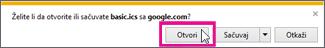 google kalendar – otvorite kalendar iz programa internet explorer