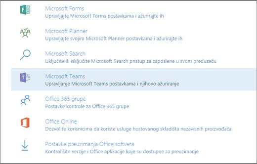 Usluga i programskih dodataka