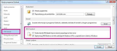 Sinhronizovanje RSS feedova
