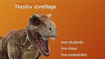 Konceptualna slika 3D školskog izveštaja
