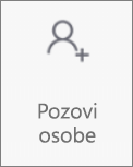 "Dugme ""Pozovi osobe"" u usluzi OneDrive za Android"