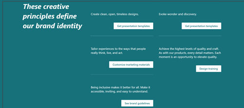 Primer navigacije stranice sa vezama ka drugom sadržaju
