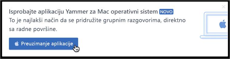 Razmena poruka u okviru proizvoda za Mac