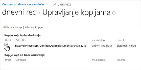Kliknite na dugme Uredi u prozoru za upravljanje datotekama
