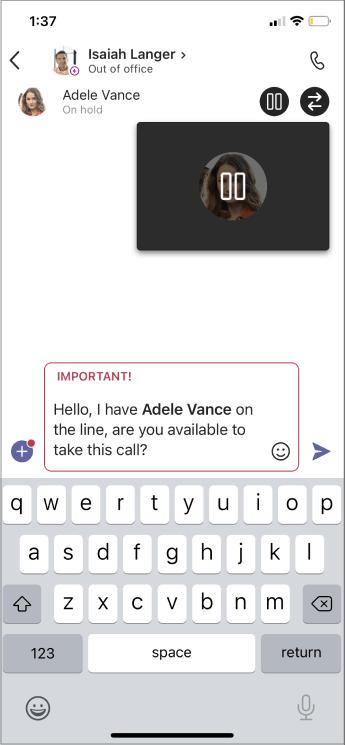 Konsultujte se sa prvim mobilnim ćaska