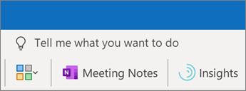 Dodavanje beležaka sastanka u Outlook sastanak