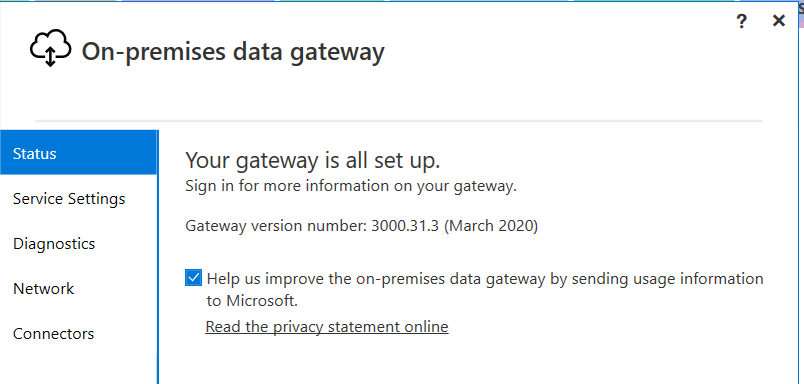 Aplikacija Gateway u dobroj državi