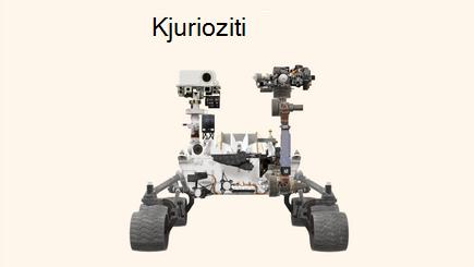 Konceptualna slika izveštaja 3D Rover