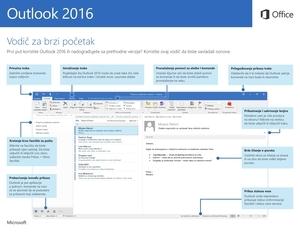 Vodič za brzi početak za Outlook 2016 (Windows)