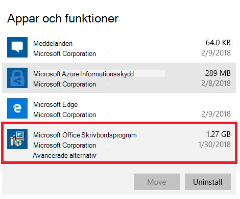 Microsoft Office-datorprogram