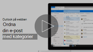 Miniatyr bild av ordna e-post med kategorier video