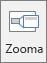 Visar knappen Zooma på fliken Infoga i PowerPoint.