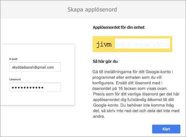 Ditt lösenord på 16 tecken.