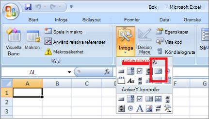 formulär kontroller