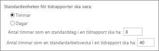 Standardrapportenheter